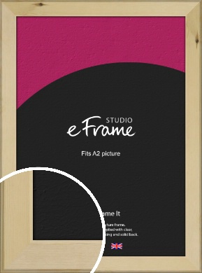 Beachwood Natural Wood Picture Frame, A2 (420x594mm) (VRMP-842-A2)