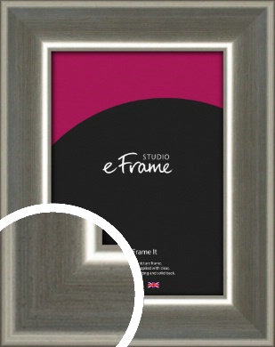 High Shine Silver Picture Frame (VRMP-843)