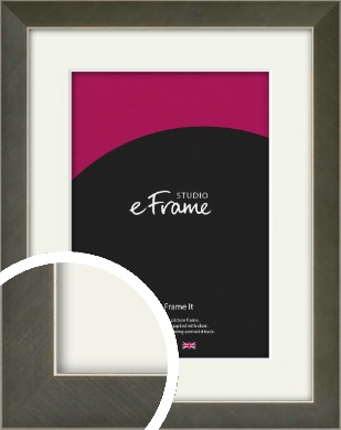 Anchor Silver Picture Frame & Mount (VRMP-844-M)