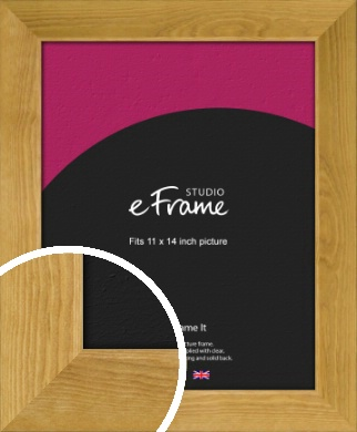 Country Farmhouse Brown Picture Frame, 11x14