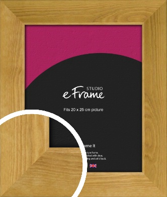 Country Farmhouse Brown Picture Frame, 20x25cm (8x10