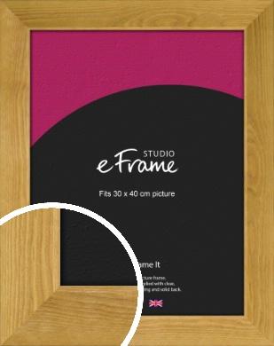 Country Farmhouse Brown Picture Frame, 30x40cm (VRMP-847-30x40cm)