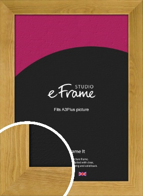Country Farmhouse Brown Picture Frame, A3Plus (VRMP-847-329x483mm)