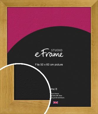 Country Farmhouse Brown Picture Frame, 50x60cm (VRMP-847-50x60cm)