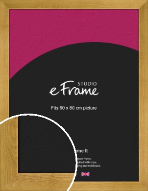 Country Farmhouse Brown Picture Frame, 60x80cm (VRMP-847-60x80cm)