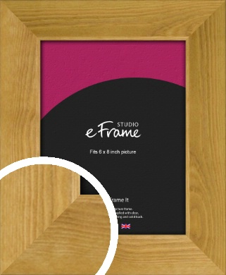 Country Farmhouse Brown Picture Frame, 6x8