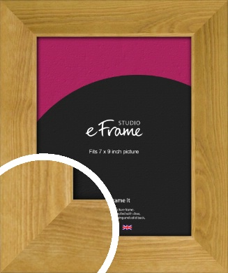 Country Farmhouse Brown Picture Frame, 7x9