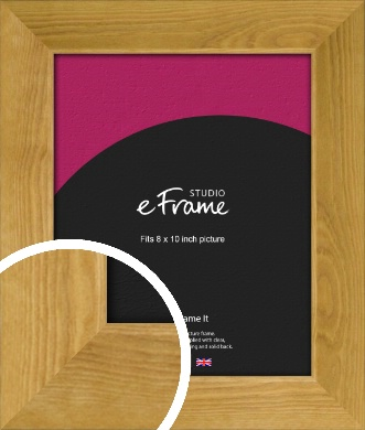 Country Farmhouse Brown Picture Frame, 8x10
