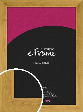 Country Farmhouse Brown Picture Frame, A2 (420x594mm) (VRMP-847-A2)
