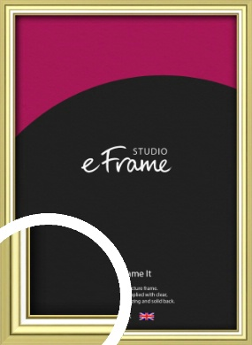 Contemporary Gold Picture Frame (VRMP-A038)