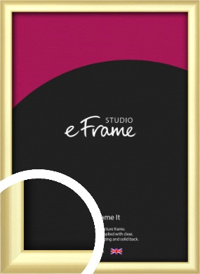Glamorous Modern Gold Picture Frame (VRMP-A039)