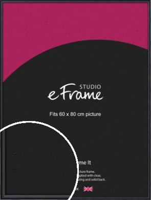 Narrow Modern Black Picture Frame, 60x80cm (VRMP-A043-60x80cm)