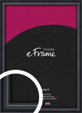 Narrow Modern Black Picture Frame (VRMP-A043)