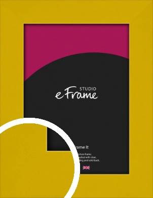 Sunflower Yellow Picture Frame (VRMP-851)