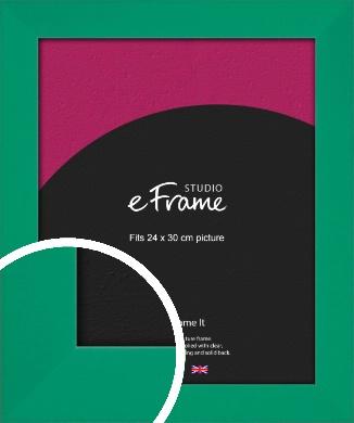 Shamrock Green Picture Frame, 24x30cm (VRMP-855-24x30cm)