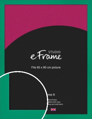 Shamrock Green Picture Frame, 60x80cm (VRMP-855-60x80cm)