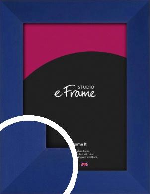 Ultramarine Blue Picture Frame (VRMP-857)