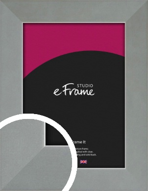 Gallery Satin Silver Picture Frame (VRMP-860)