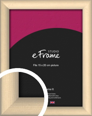 Refined Scandinavian Natural Wood Picture Frame, 15x20cm (6x8