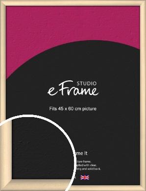 Refined Scandinavian Natural Wood Picture Frame, 45x60cm (VRMP-436-45x60cm)