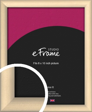 Refined Scandinavian Natural Wood Picture Frame, 8x10