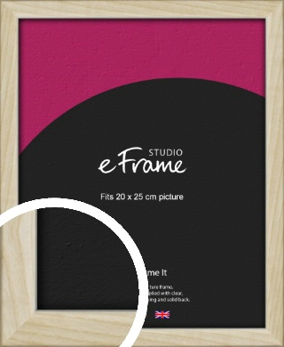 Sugarberry Natural Wood Picture Frame, 20x25cm (8x10