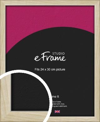 Sugarberry Natural Wood Picture Frame, 24x30cm (VRMP-865-24x30cm)