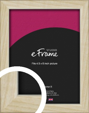 Sugarberry Natural Wood Picture Frame, 4.5x6