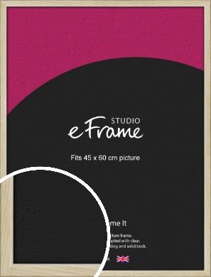 Sugarberry Natural Wood Picture Frame, 45x60cm (VRMP-865-45x60cm)
