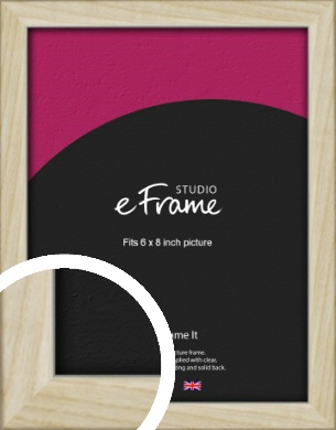 Sugarberry Natural Wood Picture Frame, 6x8