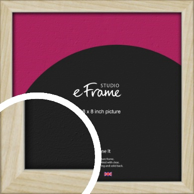 Sugarberry Natural Wood Picture Frame, 8x8