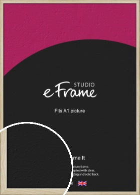 Sugarberry Natural Wood Picture Frame, A1 (594x841mm) (VRMP-865-A1)