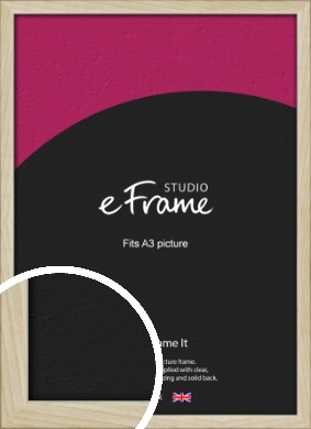 Sugarberry Natural Wood Picture Frame, A3 (297x420mm) (VRMP-865-A3)