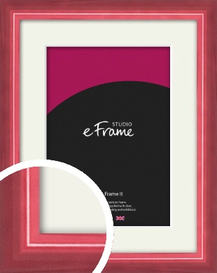 High Gloss Cerise Pink Picture Frame & Mount (VRMP-874-M)