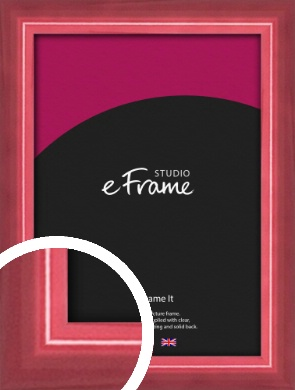 High Gloss Cerise Pink Picture Frame (VRMP-874)