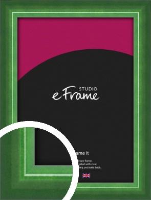 High Gloss Emerald Green Picture Frame (VRMP-875)