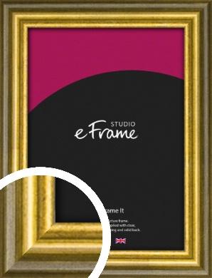 Rustic Gold Picture Frame (VRMP-880)