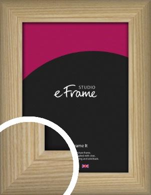 Linear Grain Natural Wood Picture Frame (VRMP-881)
