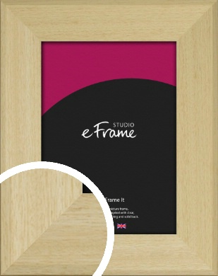 Bareface Chamfered Natural Wood Picture Frame (VRMP-882)