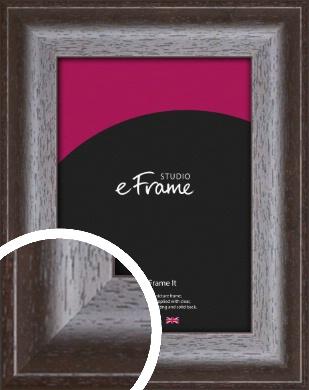 Scooped Grain Brown Picture Frame (VRMP-883)