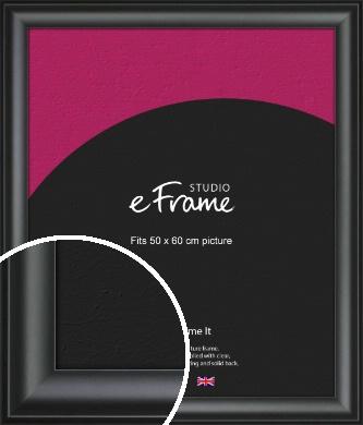 Luxury Scooped Black Picture Frame, 50x60cm (VRMP-884-50x60cm)