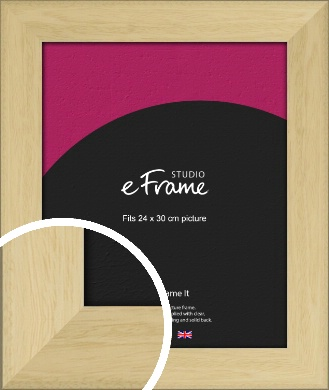 Barefaced Outdoors Natural Wood Picture Frame, 24x30cm (VRMP-885-24x30cm)