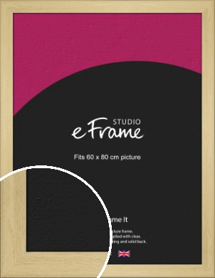 Barefaced Outdoors Natural Wood Picture Frame, 60x80cm (VRMP-885-60x80cm)