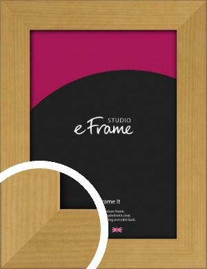 Varnished Effect Brown Picture Frame (VRMP-887)