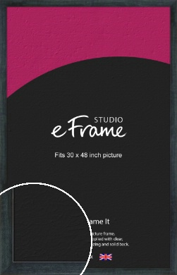 Strong Grey Picture Frame, 30x48