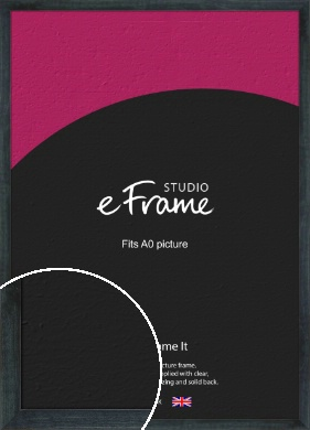 Strong Grey Picture Frame, A0 (841x1189mm) (VRMP-888-A0)