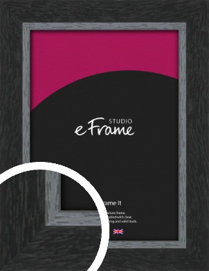 Chamfered Black Picture Frame (VRMP-890)