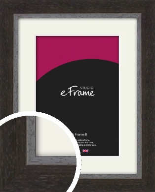 Timeless Brown Picture Frame & Mount (VRMP-891-M)