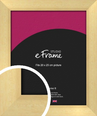 Neutral Natural Wood Picture Frame, 20x25cm (8x10