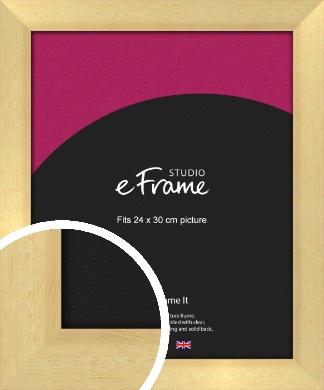 Neutral Natural Wood Picture Frame, 24x30cm (VRMP-430-24x30cm)